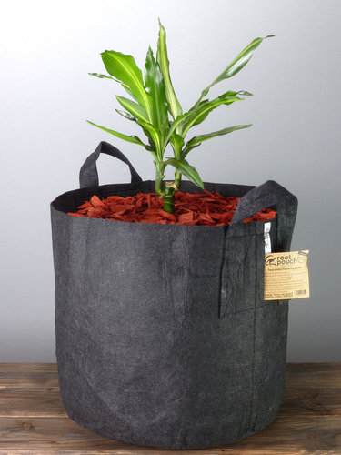 Root Pouch Black #15 Gallon / 56 Liter mit Griffen